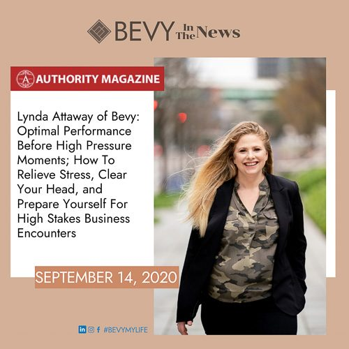 Bevy - Authority Magazine Interview